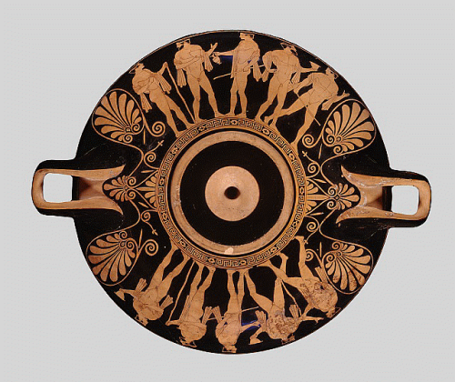 Red Figure Kylix Works The Nelson Atkins Museum Of Art
